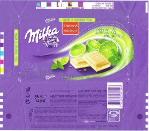 Candy Wrappers - Milka.