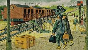 Paris-Pekin arasında yol alacak olan elektrikli tren öngörüsü...