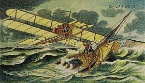 Fırtınaya yakalanmış olan gemilerdeki mürettebatı uçan cisimlerle kurtarma öngörüsü...