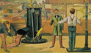 Terzilerin işlerini yerine getiren robotlar öngörüsü...