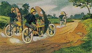 Polislerin zırhlı bisiklet (motorsiklet?) kullanacağı öngörüsü...