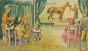 2000'de atların çok az bulunan ve soyu tükenecek hayvan listesinde olacağı öngörülmüş. At değilse bile birçok hayvanın soyunun tükendiğini düşünürsek çok gerçekçi ve doğru bir öngörü...