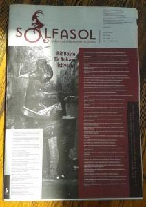 Solfasol - Mart 2014 - Kapak