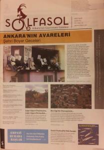 Solfasol Gazetesi - Aralik 2012 - Kapak