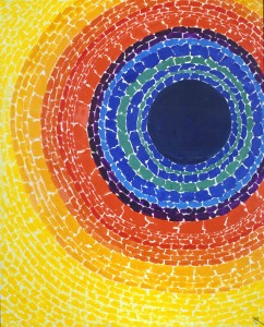 Alma Thomas - The Eclipse (1970)