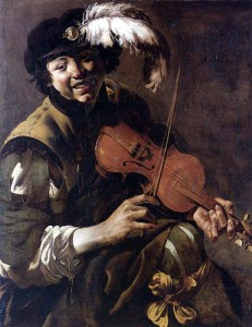 Hendrik ter Brugghen - Boy Violinist (1626)