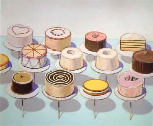 Wayne Thieband - Cakes (1963)