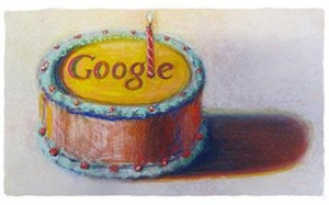 Wayne Thieband - Google - 12th Birthday Cake (2010)