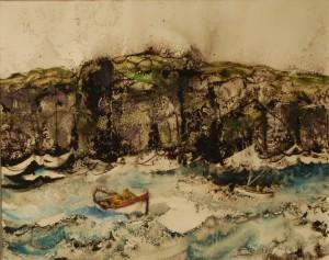 William Thon - The Irish Fishermen