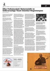 Ulke Futbolundaki Sistemsizlik Ve Istikrarsizliga Tezat Istanbul Hegemonyası