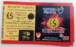 20 Subat 2010 - Eskisehirspor0-0Genclerbirligi