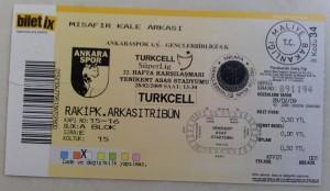 28 Subat 2009 - Ankaraspor-Genclerbirligi