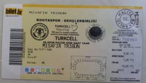 9 Kasim 2008 - Konyaspor-Genclerbirligi