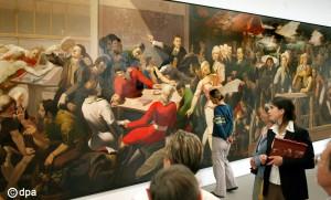Tübke-Wandbildnis wird ausgestellt
