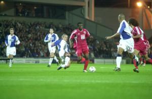 15.Ekim.2003.UEFA.Kupasi.1.Tur.2Maci.BlackburnRovers1-1Genclerbirligi -4-