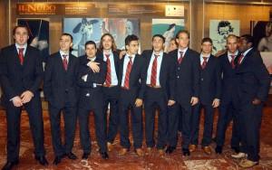 25.Subat.2004.UEFA.Kupasi.3.Tur.1.Maci.Parma.Antrenman -1-