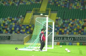 26.Kasim.2003.UEFA.Kupasi.2.Tur.2.Mac.Sporting.Lisbon.Antrenman -1-