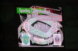 27.Kasim.2003.UEFA.Kupasi.2.Tur.2.Mac.Sporting.Lisbon0-3Genclerbirligi -7-