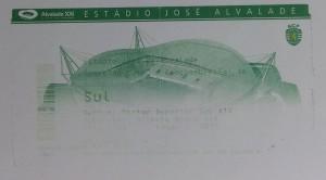 27.Kasim.2003.UEFA.Kupasi.2.Tur.2.Mac.Sporting.Lisbon0-3Genclerbirligi.Mac.Bileti