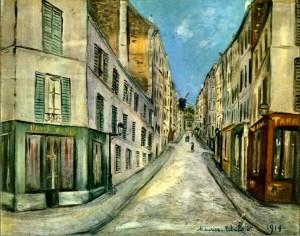Maurice Utrillo - (1914)