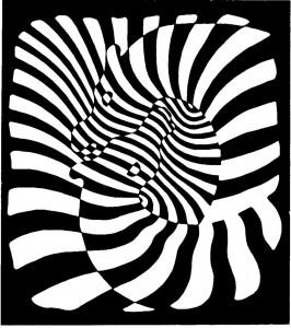 Victor Vasarely - Zebras