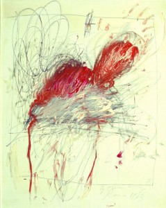 Cy Twombly - Leda and the Swan (1963)