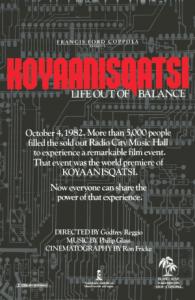 Kojaaniskatsi - Life Out of Balance
