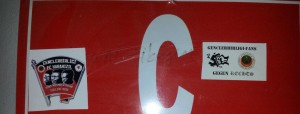 1 Eylul 2013 - Karabukspor - Genclerbirligi, Dr Necmettin Seyhoglu Stadyumu, KaraKizil Stiker