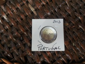 21 Eylul 2013 - Portugal 2013 Euro Coin, Funchal, Madeira