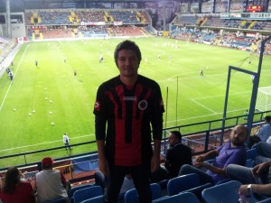 Mehmet Ali Çetinkaya - 1 Eylul 2013 - Karabukspor - Genclerbirligi, Dr Necmettin Seyhoglu Stadyumu