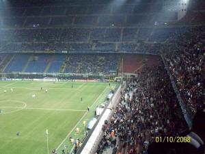 01 Ekim 2008 - Inter Milan - Werder Bremen, Giuseppe Meazza, Milano, Italya -01-