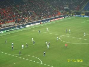 01 Ekim 2008 - Inter Milan - Werder Bremen, Giuseppe Meazza, Milano, Italya -02-