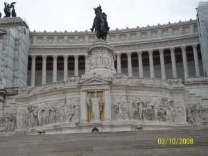 03 Ekim 2008, Vittorio Emanuele II Abidesi, Altare Della Patria, Roma, Italya -01-