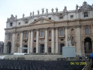 04 Ekim 2008, Aziz Petrus Bazilikasi, Vatikan, Roma, Italya -02-
