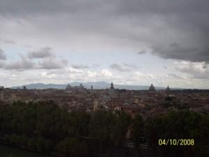 04 Ekim 2008, Castel Sant'Angelo, Roma, Italya -03-