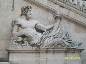 04 Ekim 2008, Piazza del Campidoglio, Roma, Italya -01-