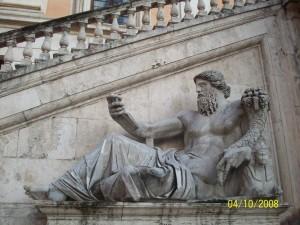 04 Ekim 2008, Piazza del Campidoglio, Roma, Italya -02-