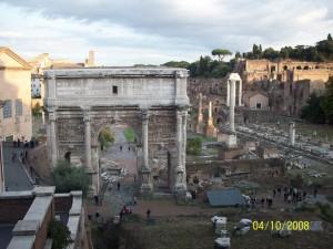 04 Ekim 2008, Roma Forum, Roma, Italya -01-