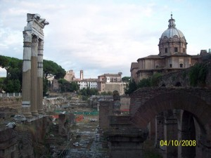 04 Ekim 2008, Roma Forum, Roma, Italya -02-
