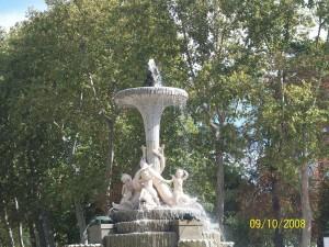 09 Ekim 2008 - Parque del Retiro, Madrid, Ispanya -01-
