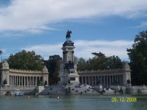 09 Ekim 2008 - Parque del Retiro, Madrid, Ispanya -02-