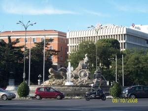 09 Ekim 2008 - Plaza de Cibeles, Madrid, Ispanya -01-