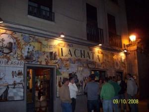 09 Ekim 2008 - Restaurante Lachata, Madrid, Ispanya -01-