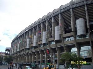 10 Ekim 2008 -Santiago Bernebeu, Madrid, Ispanya -01-