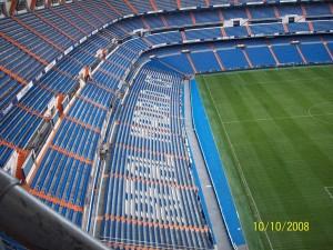 10 Ekim 2008 -Santiago Bernebeu, Madrid, Ispanya -02-