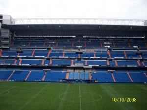 10 Ekim 2008 -Santiago Bernebeu, Madrid, Ispanya -13-