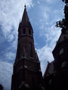 15 Haziran 2009 - Buda Calvinist Kilisesi, Budapeste, Macaristan -01-