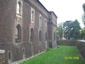 30 Eylul 2008, Castello Sforzesco, Milano, Italya -01-