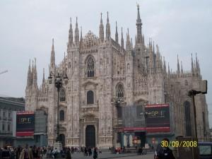 30 Eylul 2008, Duomo di Milano, Milano, Italya -01-