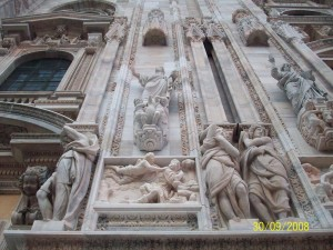 30 Eylul 2008, Duomo di Milano, Milano, Italya -04-